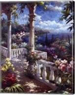 Seaside Terrace Fine-Art Print