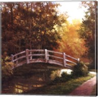 Wooden Bridge II Fine-Art Print