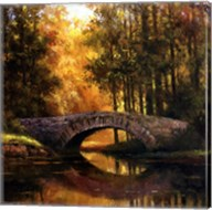 Stone Bridge Over Water Fine-Art Print