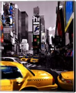 Rush Hour on Broadway Fine-Art Print