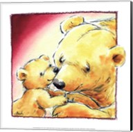 Mother Bear's Love III Fine-Art Print