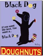 Black Dog Doughnuts Fine-Art Print