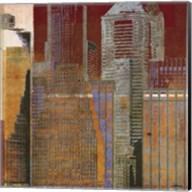 Urban Blocks I Fine-Art Print