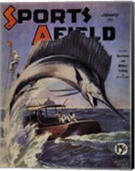 Sports Afield - January, 1941 Fine-Art Print
