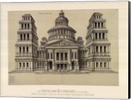Portail de Temple, (The Vatican Collection) Fine-Art Print