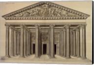 Ordonnance d'un Portique, (The Vatican Collection) Fine-Art Print