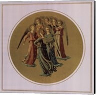 Angels Playing Musical Instruments, (The Vatican Collection) Fine-Art Print