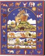 Noah's Ark Alphabet Fine-Art Print