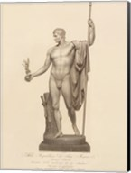 Man with Ball and Staff, (The Vatican Collection) Fine-Art Print