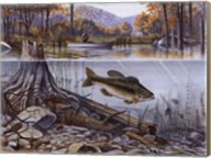 River Fishing Fine-Art Print