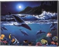 Moonlit Sealife Fine-Art Print