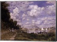 The Basin at Argenteuil Fine-Art Print
