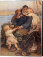 Fisherman with Children Fine-Art Print