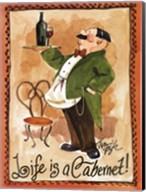 Life is a Cabernet Fine-Art Print