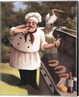 Barbecue Chef Hot Sauce Fine-Art Print