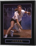 Power - Tennis Player Fine-Art Print