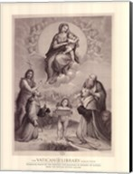 Madonna de Foligno, c.1511, (The Vatican Collection) Fine-Art Print
