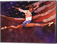 Olympic Gymnast Fine-Art Print