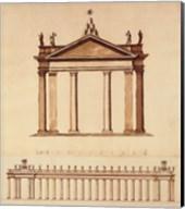 Alternate Design For Piazza di San Pietro, (The Vatican Collection) Fine-Art Print