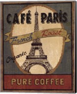 Coffee Blend Label II Fine-Art Print