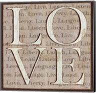 L is for Love Fine-Art Print