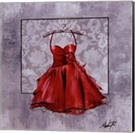Red Party Dress Fine-Art Print