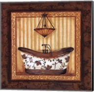 Copper Paisley Bath I Fine-Art Print