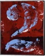 Vintage Numbers II Fine-Art Print