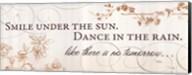 Smile under the Sun Fine-Art Print