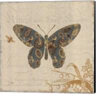 Natures Pattern II in Blue Fine-Art Print