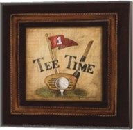Golf Tee Time - petite Fine-Art Print