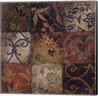 Floral Mosaic V Fine-Art Print