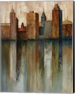 City View II Fine-Art Print