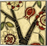 Small Floral Mosaic I Fine-Art Print