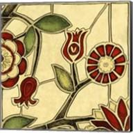 Small Floral Mosaic II Fine-Art Print