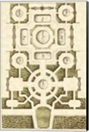 Small Garden Maze III (P) Fine-Art Print