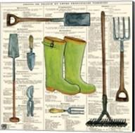 Garden Boots Fine-Art Print