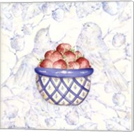 Toile & Berries I Fine-Art Print