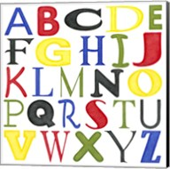 Kid's Room Letters Fine-Art Print