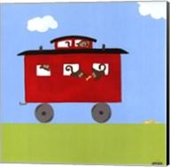 Circus Train IV Fine-Art Print