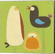 Feathered Friends II Fine-Art Print
