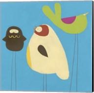 Feathered Friends III Fine-Art Print