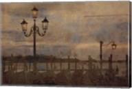 Dawn & the Gondolas I Fine-Art Print