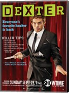 Dexter Wired Spoof Wall Poster