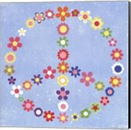 Peace Flowers I Fine-Art Print