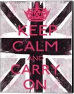 Keep Calm And Carry On 3 Fine-Art Print