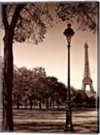 An Afternoon Stroll - Paris I Fine-Art Print