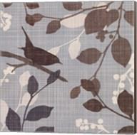 A Sparrow's Garden I Fine-Art Print