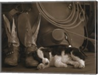 Cowboy Puppy Fine-Art Print