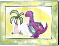 Lil Purple Dino Fine-Art Print